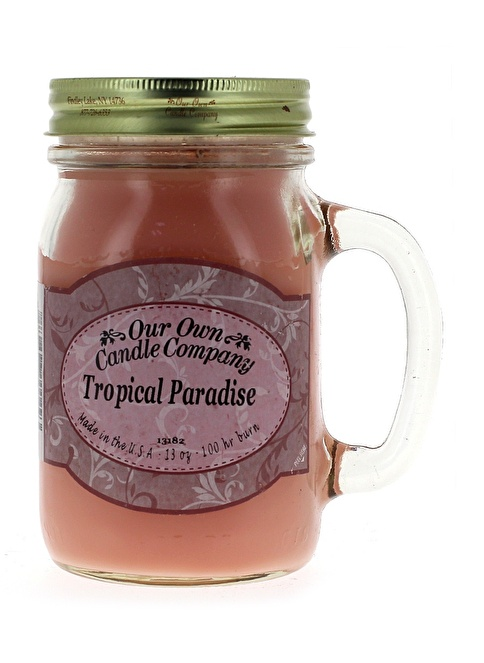 Our Own Candle Company Tropical Paradise Büyük Mum Renkli
